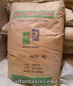 1st picture of Maltodextrin Supply For Sale in Cebu, Philippines