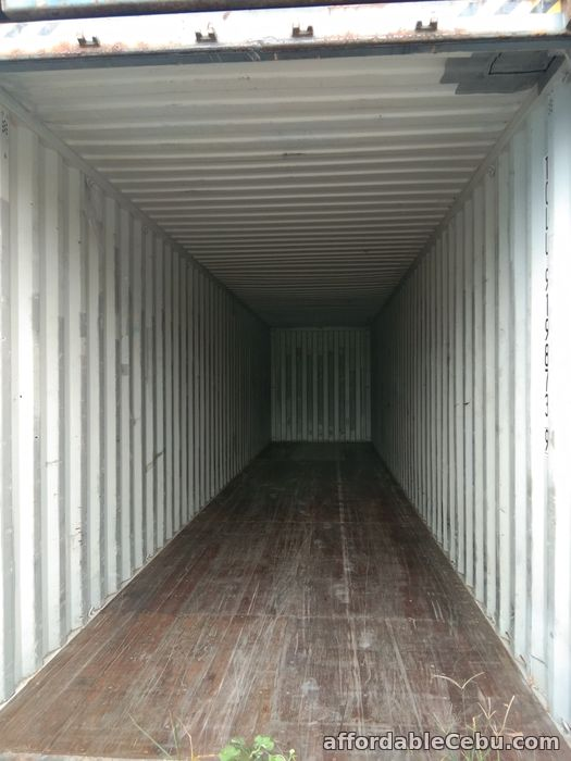 1st picture of 40'ft Empty Container Van standard For Sale in Cebu, Philippines