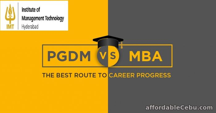 1st picture of Difference Between MBA Vs PGDM Announcement in Cebu, Philippines