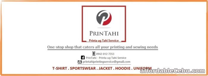 1st picture of Looking for T-shirt, Sportswear, Jacket, Hoodie and Uniform Printing? Offer in Cebu, Philippines