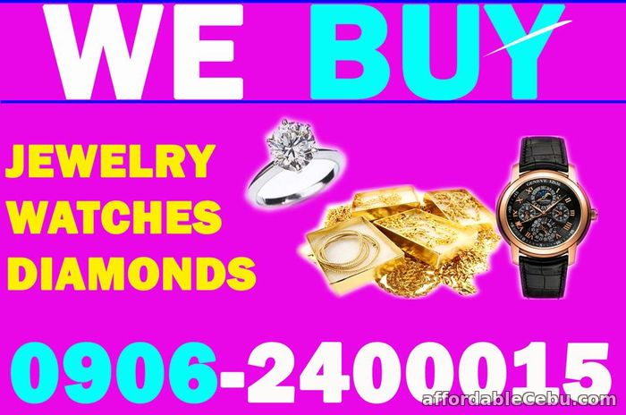 1st picture of BUYING ALL KINDS OF JEWELRY, WATCH, DIAMOND, GOLD IN CEBU. Wanted to Buy in Cebu, Philippines