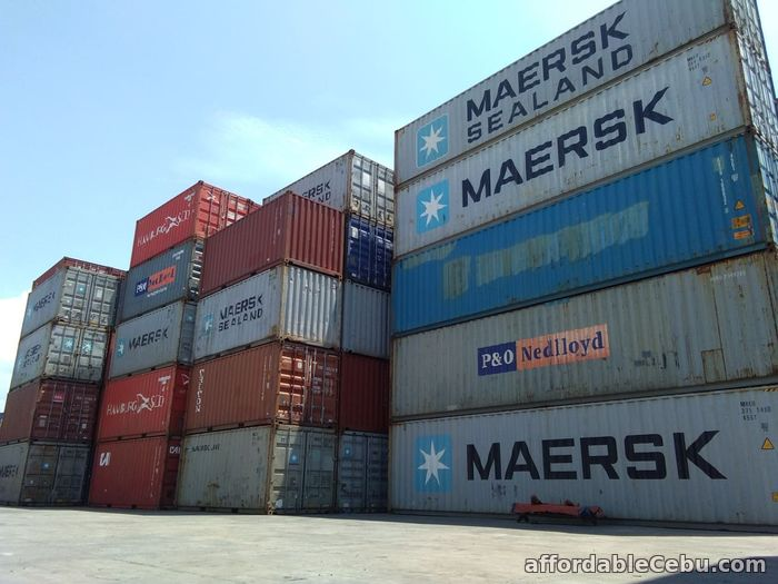 1st picture of 40 ft Container Vans for sale For Sale in Cebu, Philippines