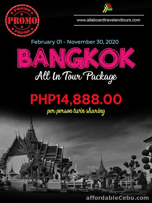 1st picture of Bangkok Free and Easy All-In Tour Package For Sale in Cebu, Philippines