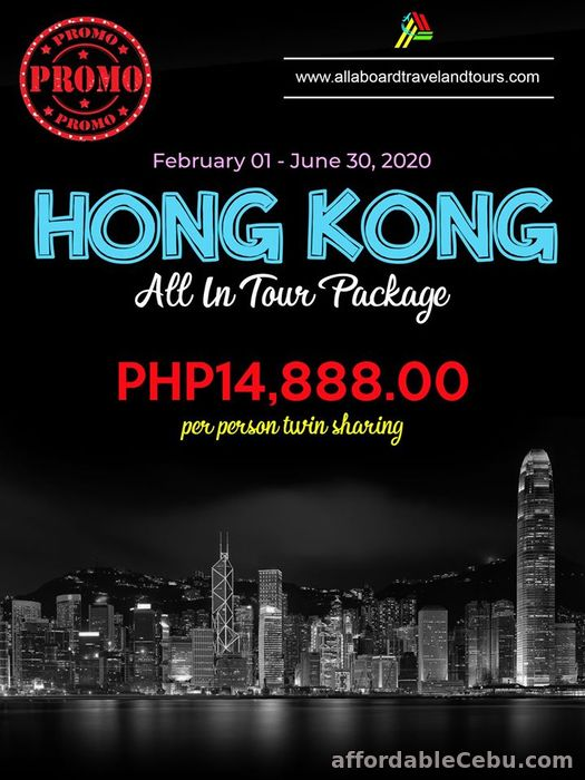 1st picture of Hong Kong Free and Easy All-In Tour Package For Sale in Cebu, Philippines