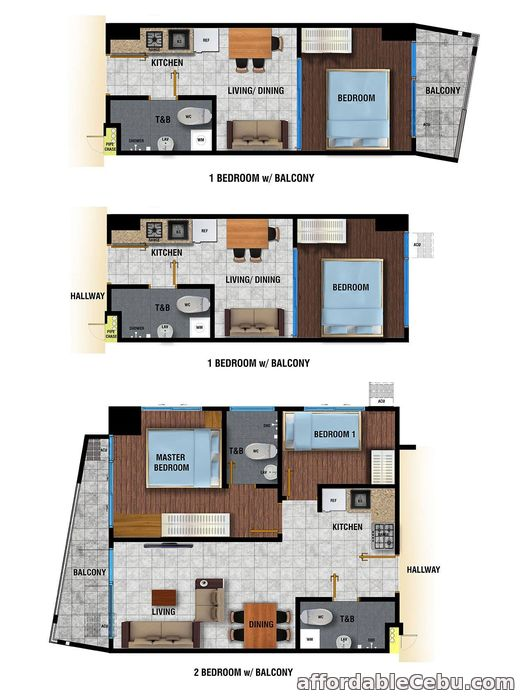 5th picture of PRIME WORLD DISTRICT RESIDENTIAL CONDO UNIT For Sale in Cebu, Philippines