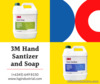 3M Hand Sanitizer and Soap