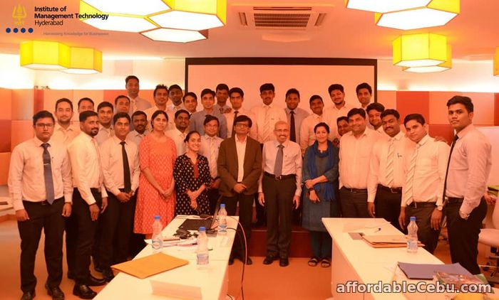 1st picture of PGDM Course in Hyderabad Announcement in Cebu, Philippines