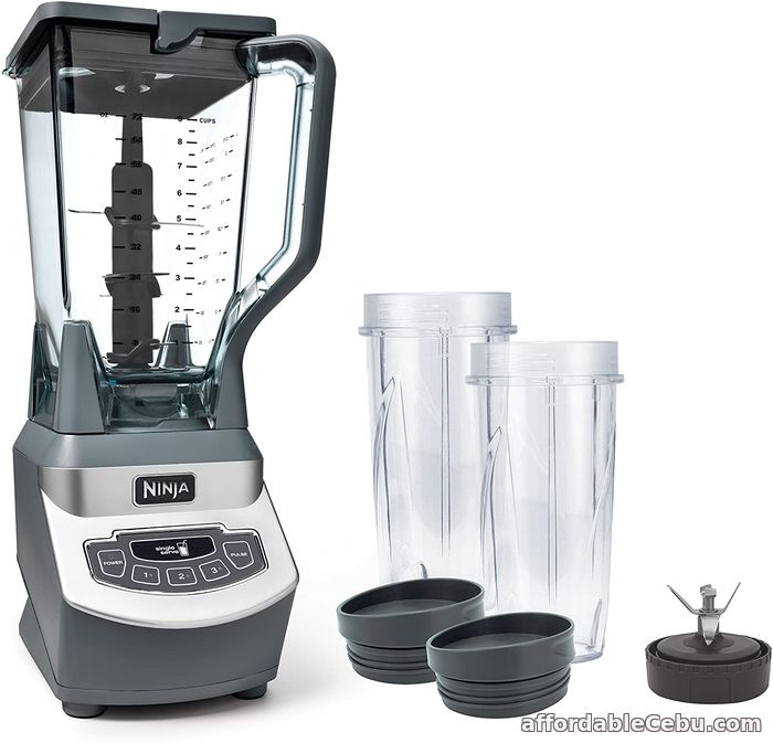 1st picture of Ninja Professional Countertop Blender with 1100-Watt Base, 72oz Total Crushing Pitcher and (2) 16oz Cups for Frozen Drinks and Smoothies (BL For Sale in Cebu, Philippines