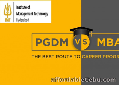 1st picture of MBA Vs PGDM Announcement in Cebu, Philippines