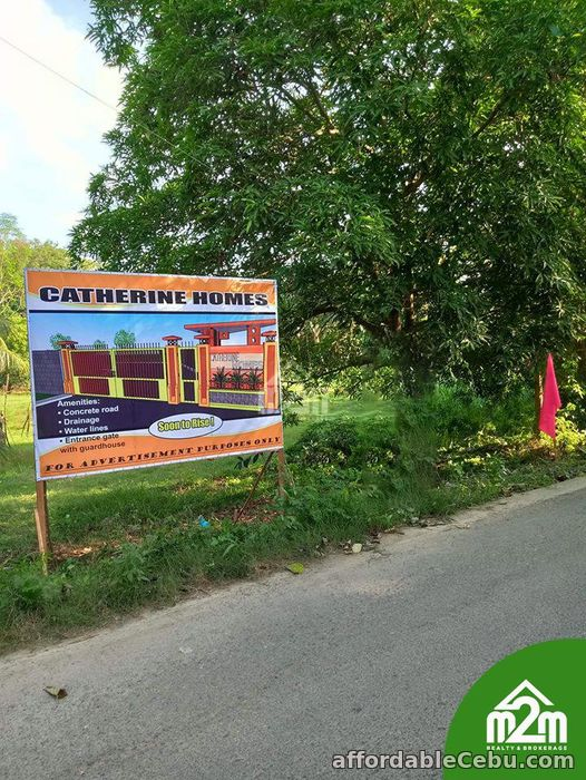 1st picture of Catherine Homes(LOT ONLY) Can-Asujan, Carcar City, Cebu For Sale in Cebu, Philippines
