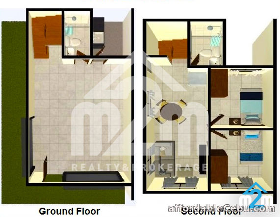 2nd picture of 2 Bedrooms And 2-Storey Townhouse For Sale in Can-asujan,Carcar For Sale in Cebu, Philippines