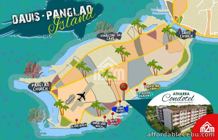 3rd picture of Atharra Suites Panglao(STUDIO TYPE) Panglao Island,Bohol,Philipines For Sale in Cebu, Philippines