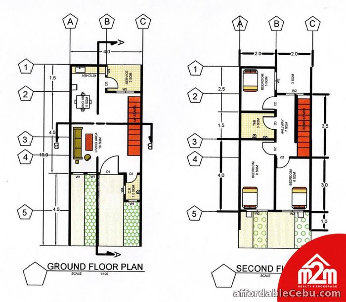 2nd picture of Gregory Homes(TOWNHOUSE)Sitio Bas, Perrelos, Carcar, Cebu, Philipines For Sale in Cebu, Philippines