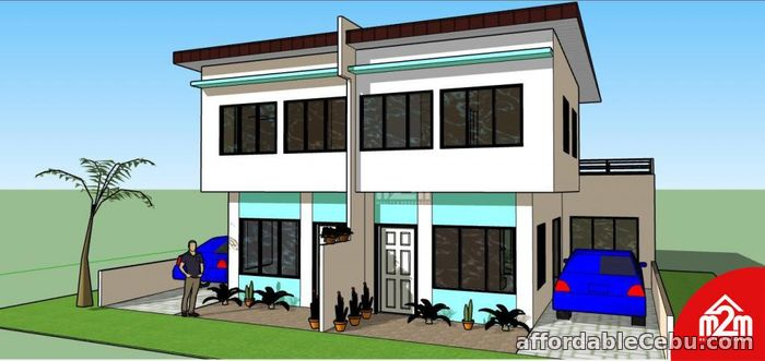 1st picture of Gregory Homes(DUPLEX MODEL) Sitio Bas, Perrelos,Carcar,Cebu,Philipines For Sale in Cebu, Philippines