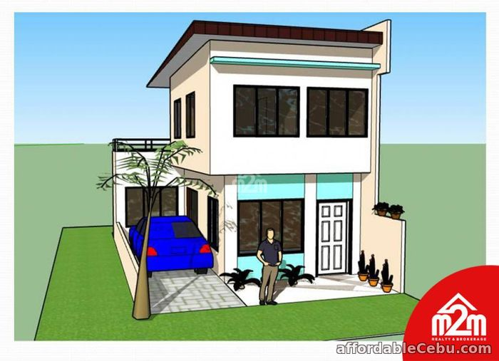 2nd picture of Gregory Homes(SINGLE ATTACHED MODEL) Sitio Bas, Perrelos, Carcar, Cebu, Philipines For Sale in Cebu, Philippines