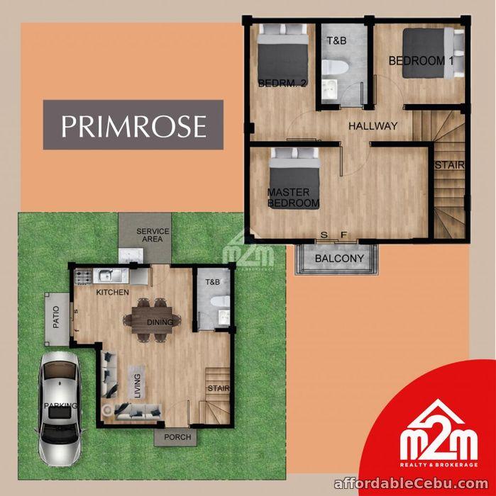 3rd picture of Elkwood Homes(PRIMROSE MODEL) Tabunok, Talisay, Cebu, Philipines For Sale in Cebu, Philippines