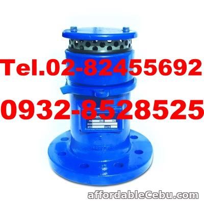 2nd picture of Air Release Valve, Air Valve, Air Vent, Air Discharge Valve, Air Operated Valve, Air Release Valve in Metro Manila, Air Release Valve in Man For Sale in Cebu, Philippines