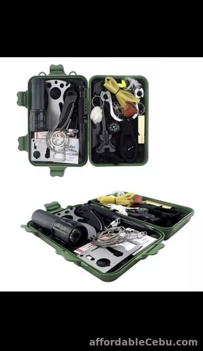 4th picture of Heavy Duty Emergency Outdoor Survival Backpack Kit - 93 in 1 For Sale in Cebu, Philippines