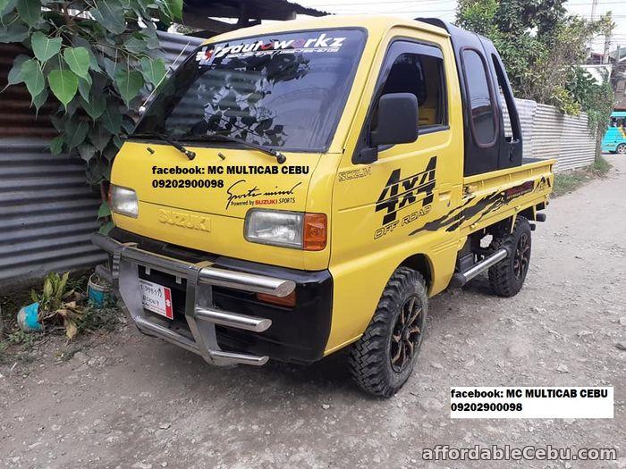 4th picture of Suzuki Scrum Pick up 4x4 dropside - Surplus Japan For Sale in Cebu, Philippines