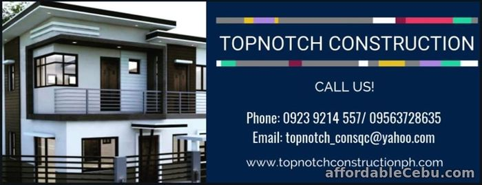 1st picture of Top-Notch Construction Home Builder Offer in Cebu, Philippines