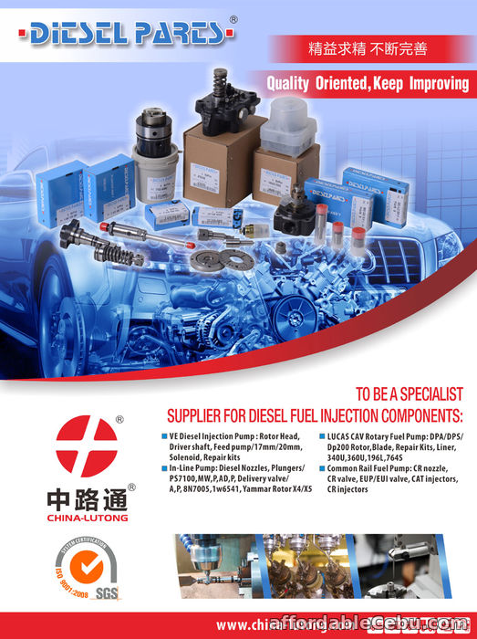 1st picture of RENAULT CR delphi injector ejbr 03101d from China best manufacturer For Sale in Cebu, Philippines