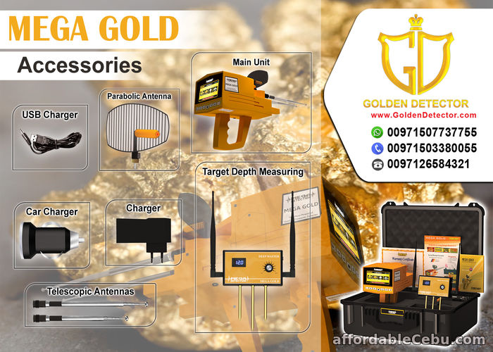 5th picture of MEGA GOLD BY MEGA LOCATOR For Sale in Cebu, Philippines