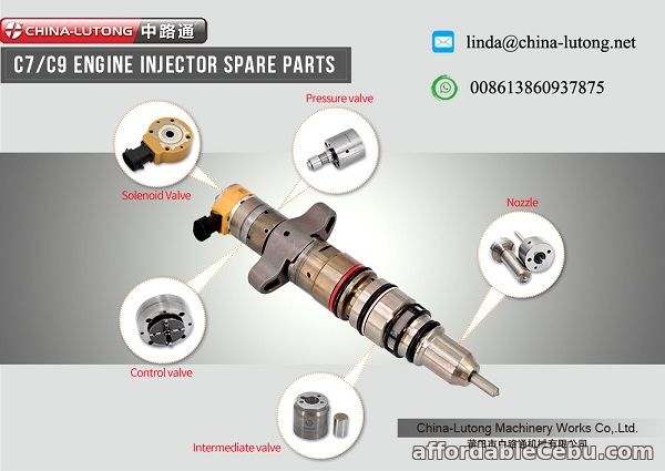 1st picture of caterpillar c9 spare parts for cat c9 fuel injector For Sale in Cebu, Philippines