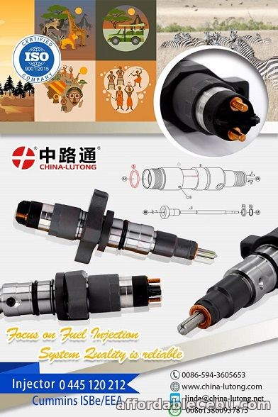 1st picture of Bosch Piezo Common Rail Injector 0 445 120 059 dodge common rail injector For Sale in Cebu, Philippines