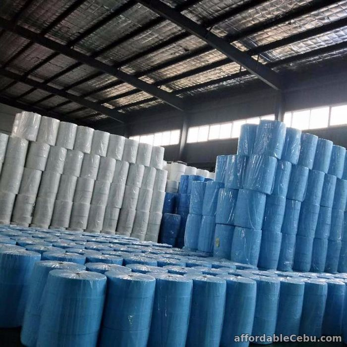 1st picture of BFE95, BFE98, & BFE99 Melt Blown Fabric for face mask production. For Sale in Cebu, Philippines