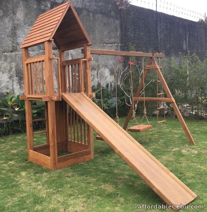 1st picture of Plantation Teak Eco Playground Equipment Adventure For Sale in Cebu, Philippines