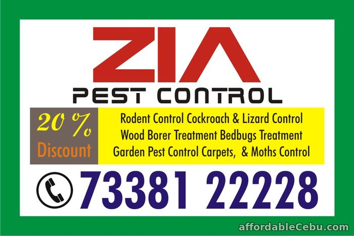 1st picture of Pest Control | Cockroach and Bed Bug Service | 7338122228 | 1327 | Offer in Cebu, Philippines