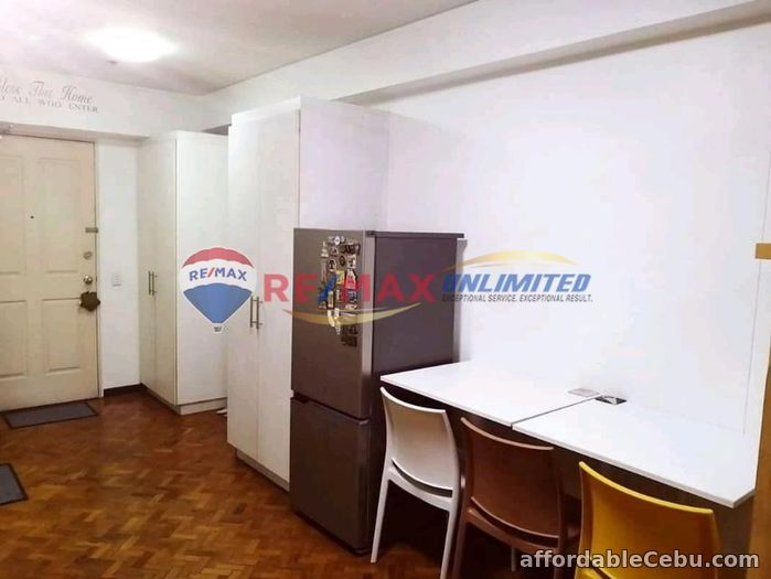4th picture of FOR SALE: Furnished Studio Unit with parking at The Columns Ayala Ave. For Sale in Cebu, Philippines