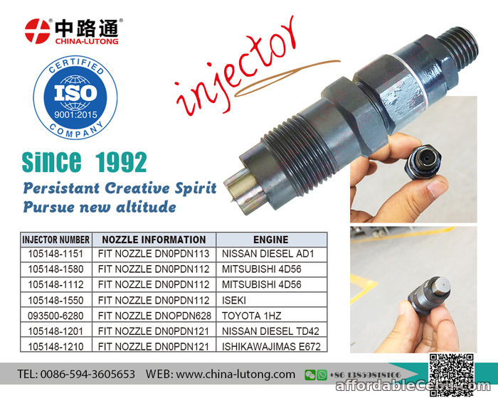 1st picture of 4d56 common rail injector auto common rail injectors 23600-69055 For Sale in Cebu, Philippines