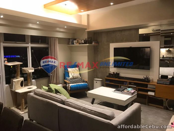 1st picture of FOR SALE: Furnished with Premium Finishes – 2 BR Bi-Level at Two Serendra Encino For Sale in Cebu, Philippines