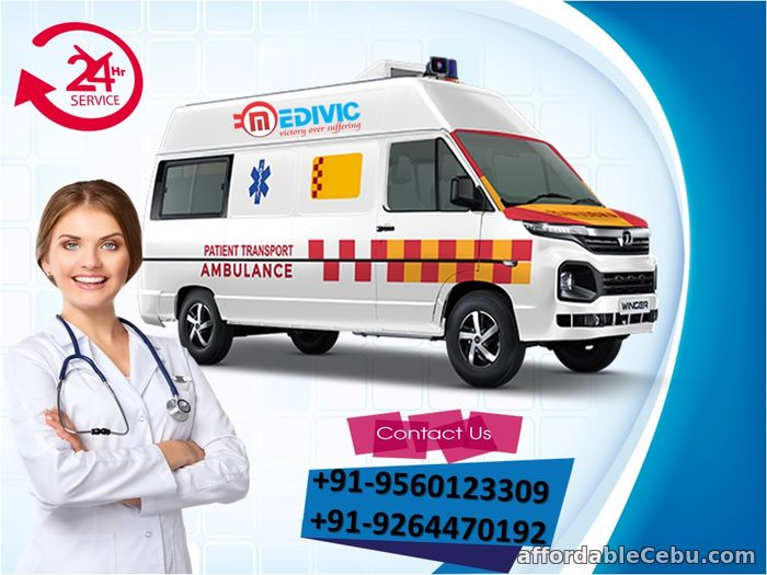 1st picture of Get the Most Effectual Ambulance Service in Darbhanga by Medivic Offer in Cebu, Philippines