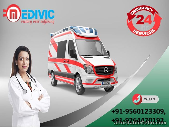 1st picture of Get Marvelous ICU Setup by Medivic Ambulance Service in Muzaffarpur Offer in Cebu, Philippines