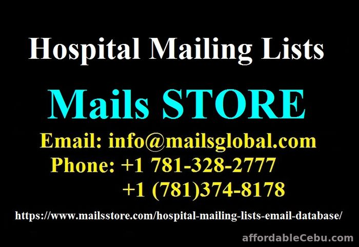 1st picture of Hospital Email List | Hospital Mailing List | Hospital Email Database For Sale in Cebu, Philippines