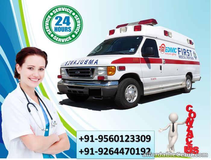 1st picture of Gain the Quickest Relocation by Medivic Ambulance Service in Gaya Offer in Cebu, Philippines
