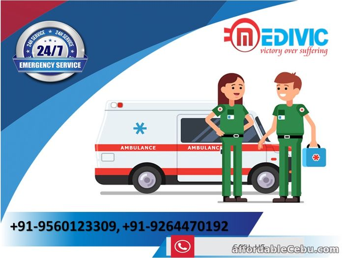 1st picture of Book Medivic Ambulance Service in Patna at a Very Nominal Charge Offer in Cebu, Philippines
