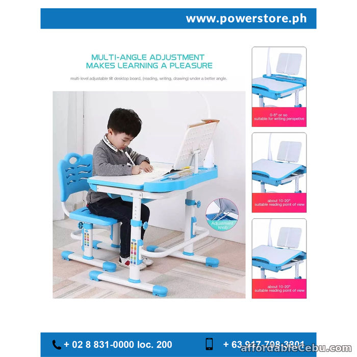 3rd picture of Height Adjustable kids ergonomic desk For Sale in Cebu, Philippines