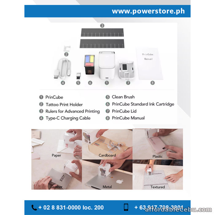 3rd picture of Portable Mini Mobile DIY Color Digital Printer For Sale in Cebu, Philippines
