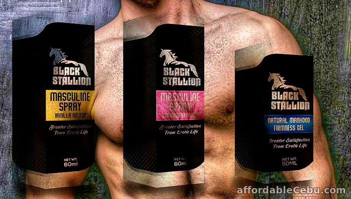 5th picture of Black Stallion Masculine Spray and Gel For Sale in Cebu, Philippines