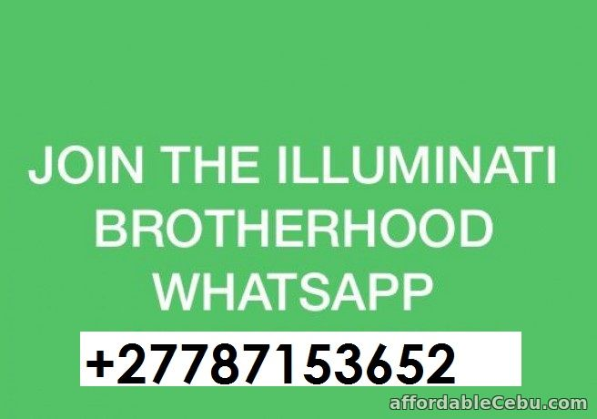 1st picture of Join Illuminati 666 Now Online and have all you want in life Offer in Cebu, Philippines