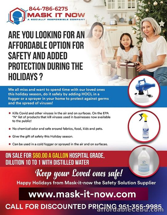 1st picture of Safety Options for the Holidays Offer in Cebu, Philippines