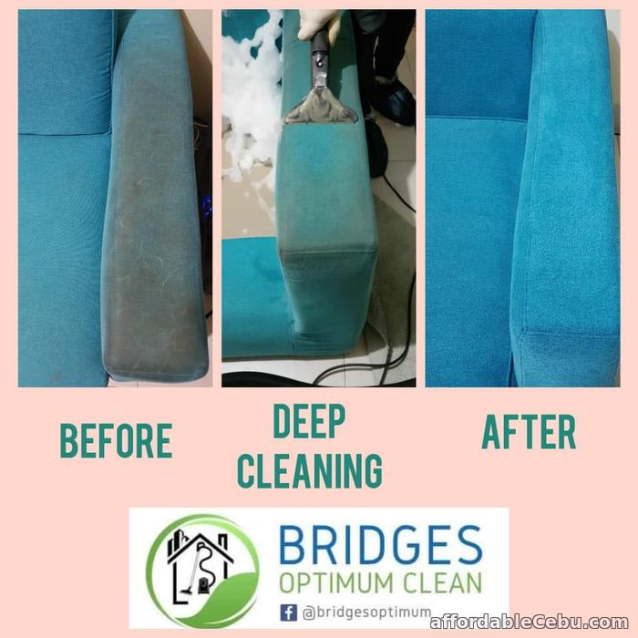3rd picture of Sofa/Upholstery Deep Cleaning Services Offer in Cebu, Philippines
