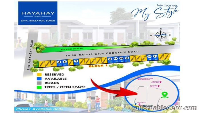5th picture of Hayahay Homes(1-Single Storey ) Laya, Baclayon, Bohol For Sale in Cebu, Philippines