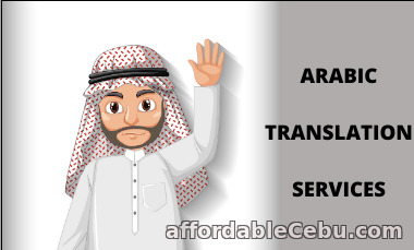 1st picture of Arabic Translation Services| Vanan Translation Announcement in Cebu, Philippines