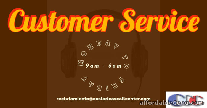 3rd picture of BEST CUSTOMER SERVICE AND BACK OFFICE JOB IN COSTA RICA Looking For in Cebu, Philippines