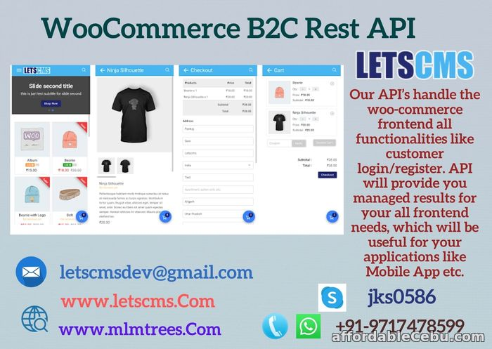 1st picture of Woocommerce Business to Customer Rest API | B2C API Woocommerce | WordPress B2C Plugin For Sale in Cebu, Philippines