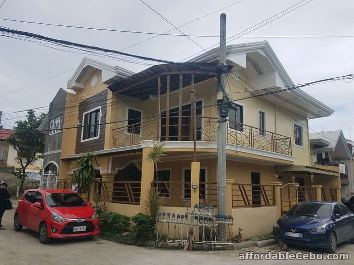 1st picture of A 2 storey Corner House and lot for Sale in Talamban Cebu City!!! For Sale in Cebu, Philippines